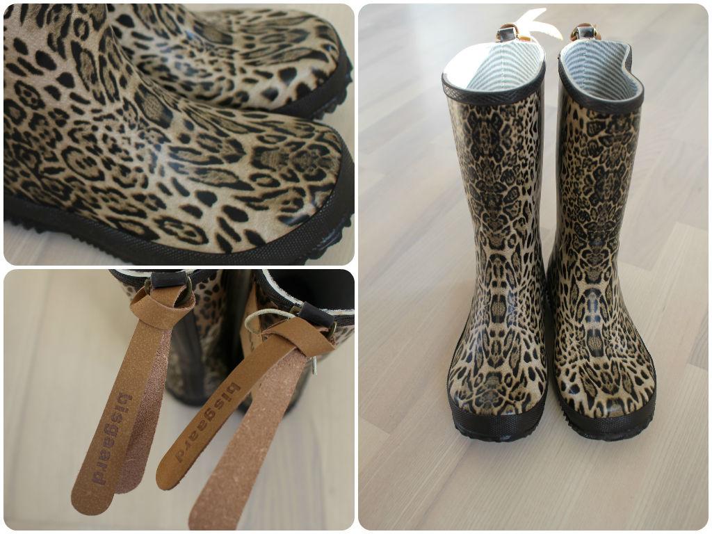 Bisgaard gummistøvler - leopardprint