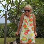 Sommerpige på Ø ferie