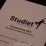 Studiet danseshow – Anno 2016