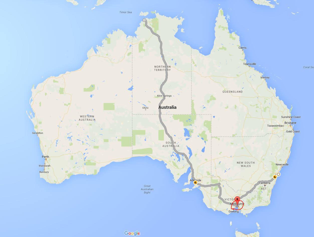 Australien - ferieblog