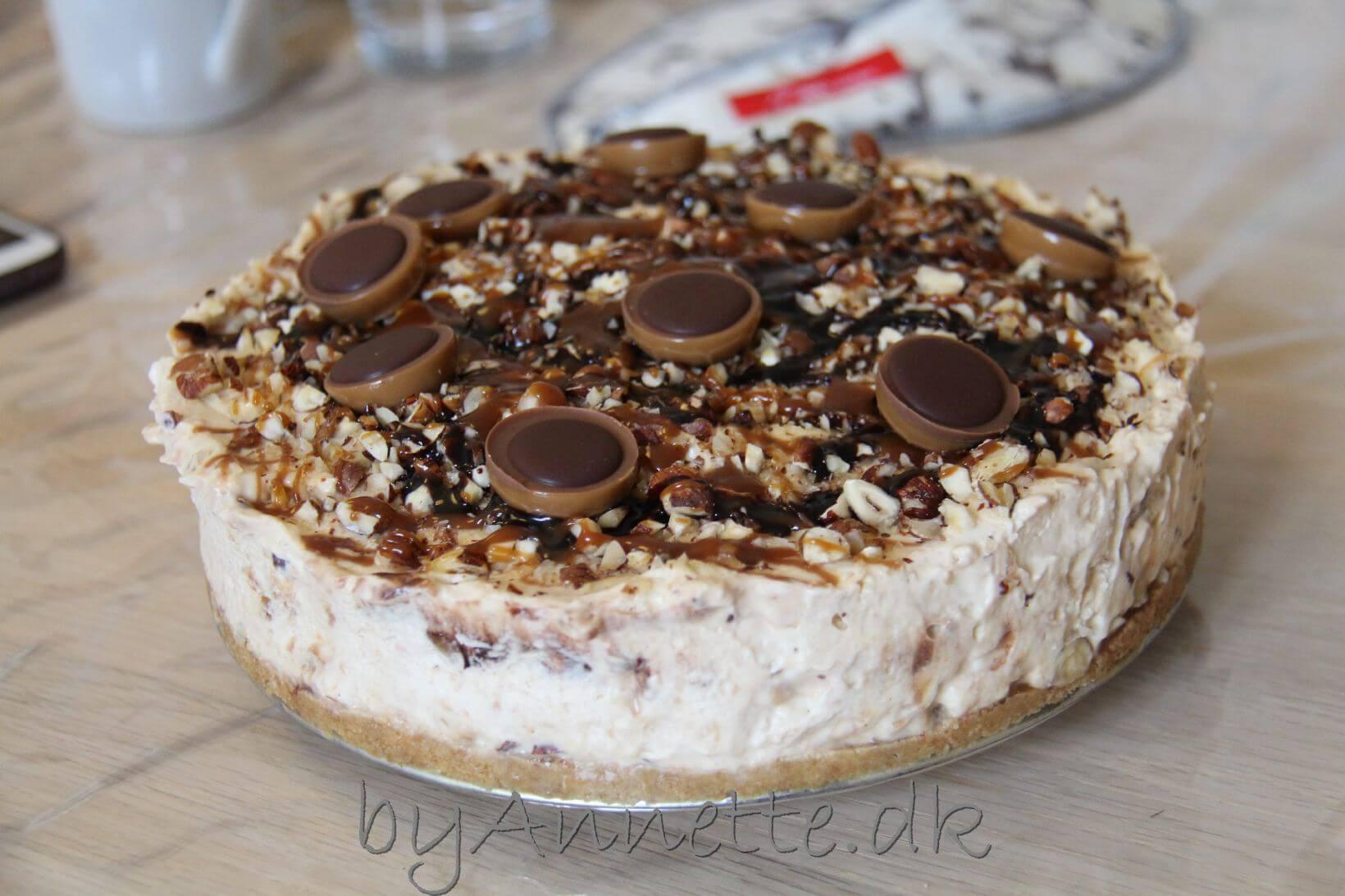 Toffifee Cheesecake - byAnnette.dk
