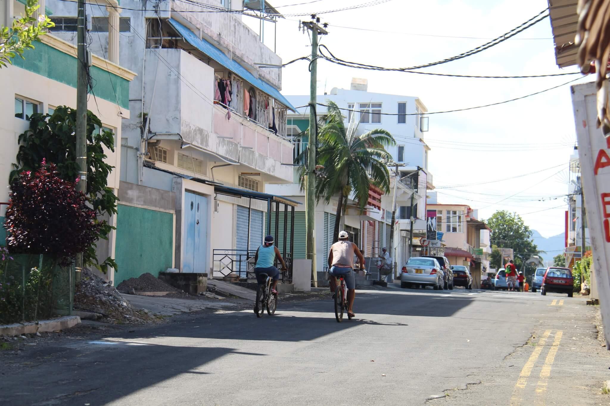 Gadebillede fra Mauritius  - ByAnnette.dk