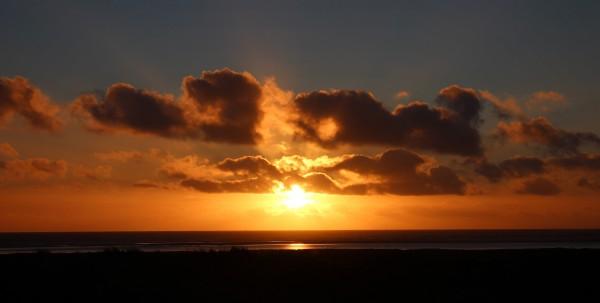 Solnedgang over Fanø