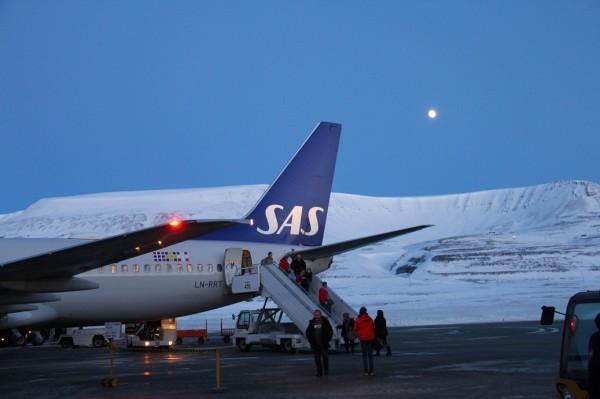 Dag 1 på Svalbard // Billedet er taget af @ByAnnette.dk