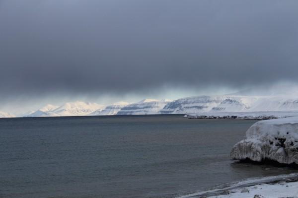 Vejrskifte på Svalbard // Billedet er taget af @ByAnnette.dk