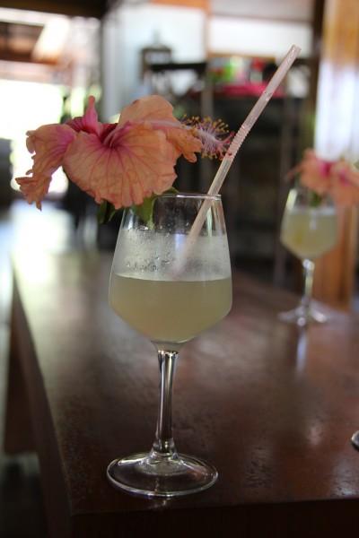 Velkomst Drink - La Digue  /Picture by @byAnnette.dk