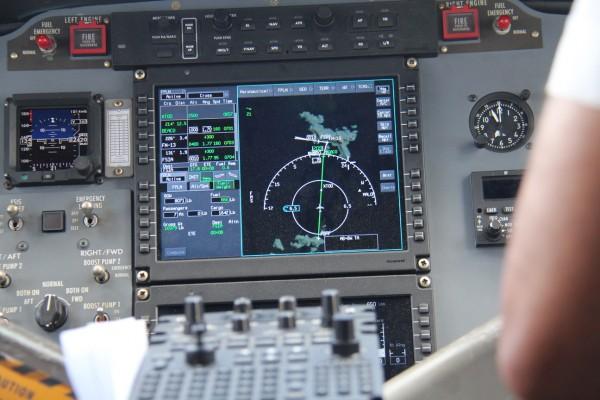 Flyver fra Praslin til Mahe  / Picture by @ByAnnette.dk