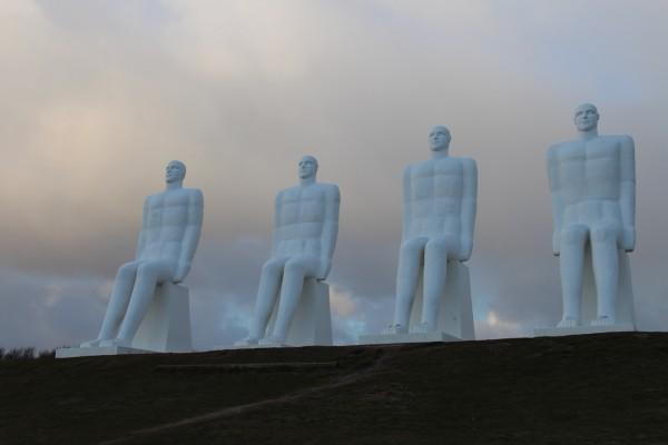 De hvide maend / Billede af ByAnnette.dk