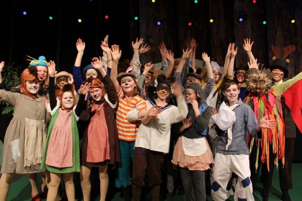 Alle de gode skuespillere fra Teaterhuset i Esbjerg  //Billede af ByAnnette.dk