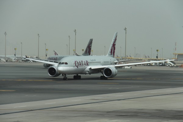 Qatar Airlines - Doha airport