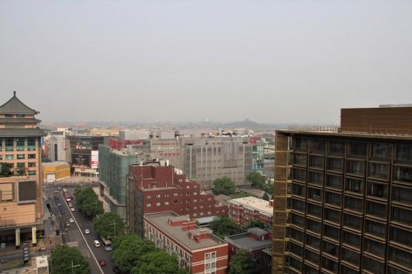 Udsigten fra Lee Garden hotel, Beijing