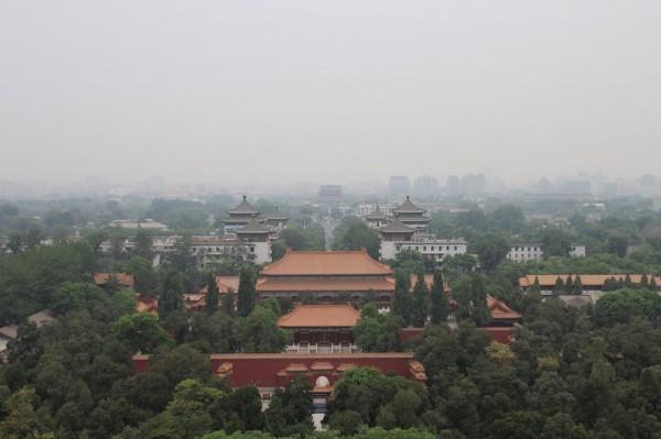 Udsigt over den forbudte by, Beijing // Billede af byAnnette.dk